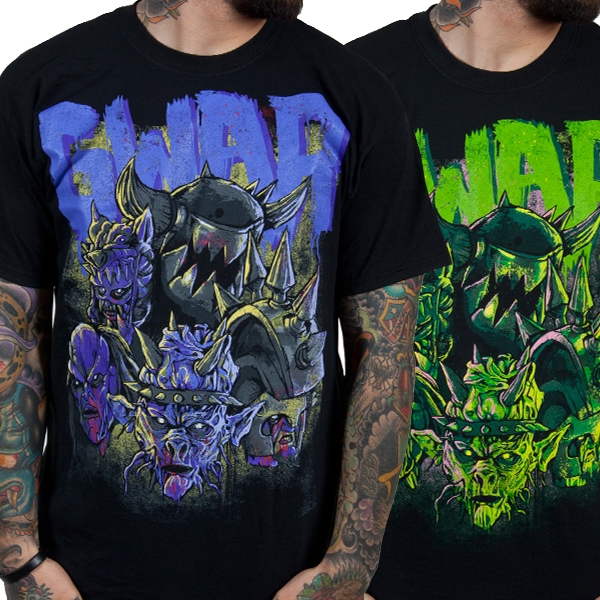 Gwar- Destroyers on a black shirt
