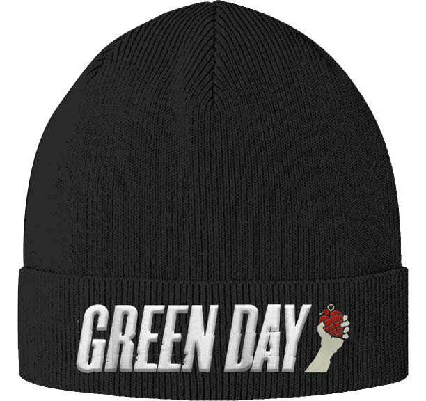 Green Day- Grenade Cuffed Beanie (Sale price!)