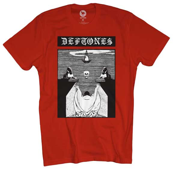Deftones- Altar on a red shirt
