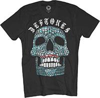 Deftones- Jade Skull on a black ringspun cotton shirt (Sale price!)