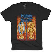 Morbid Angel- Heretic on a black shirt