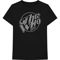 Who- 1966 on a black ringspun cotton shirt