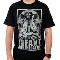Infant Annihilator- Goat Lord on a black shirt