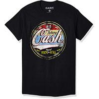 Johnny Cash- 1955 Original Rock N Roll on a black shirt