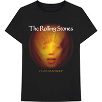 Rolling Stones- Goats Head Soup on a black shirt
