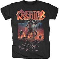 Kreator- Warrior on a black shirt