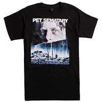 Pet Sematary- Face & Graves on a black shirt