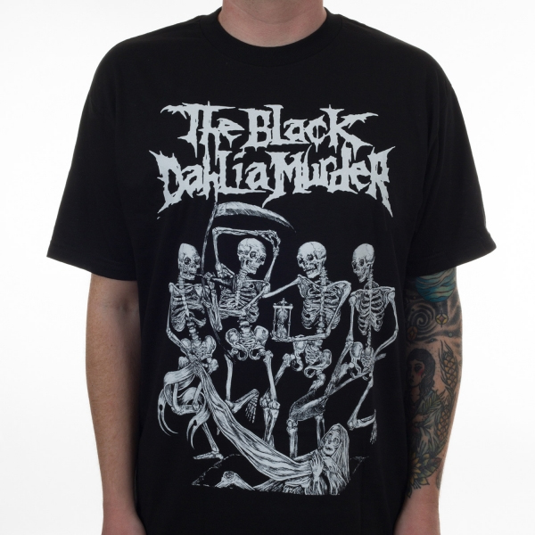 Black Dahlia Murder- Danse Macabre on a black shirt