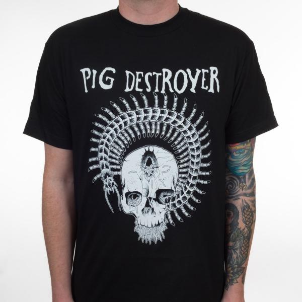 Pig Destroyer- Prescott Skull on a black shirt