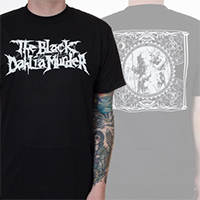 Black Dahlia Murder- Logo on front, Bringers Of The Night on back on a black shirt
