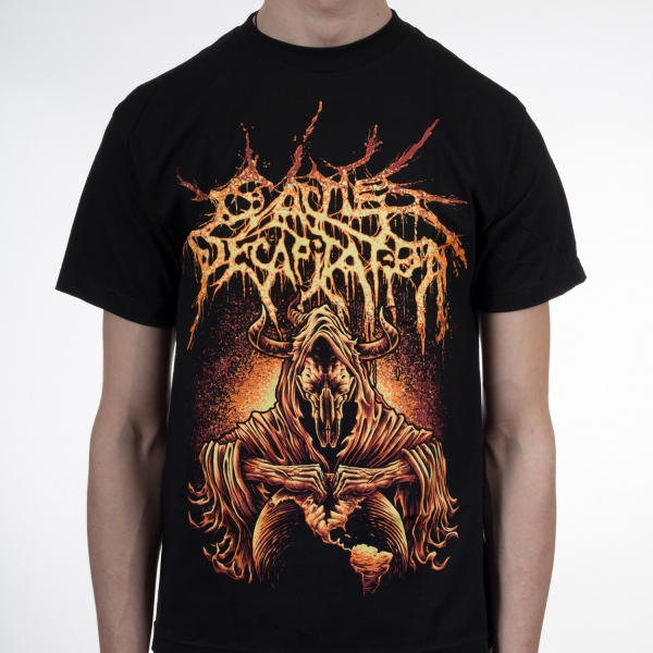 Cattle Decapitation- North American Extinction on a black shirt