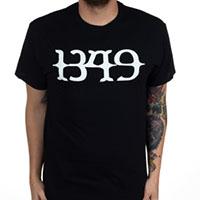1349- Logo on a black shirt