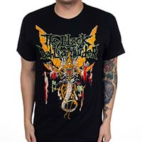 Black Dahlia Murder- Hell Wasp on a black shirt