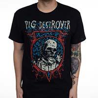 Pig Destroyer- Myiasis on a black shirt