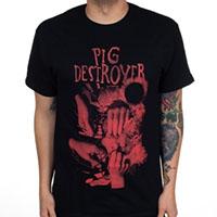 Pig Destroyer- Hands on a black shirt