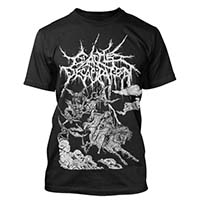 Cattle Decapitation- The Procession on a black shirt