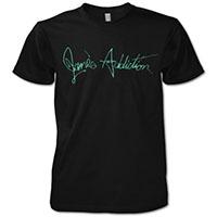 Jane's Addiction- Logo on a black shirt