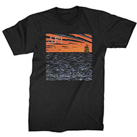 AFI- Black Sails In The Sunset on a black shirt