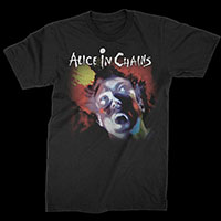 Alice In Chains- Facebreaker on a black shirt