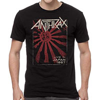 Anthrax- Live In Japan 1987 on a black shirt