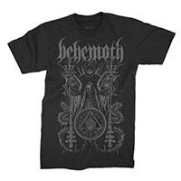 Behemoth- Ceremonial on a black shirt