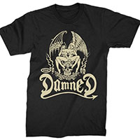 Damned- Devil Twins on a black shirt