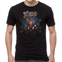 Dio- Strange Highways on a black shirt
