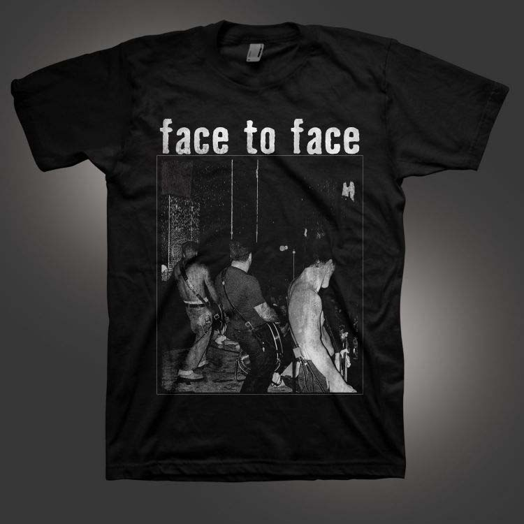 Face To Face- Live on a black shirt