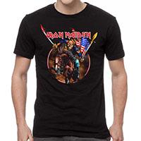 Iron Maiden- Custer on a black shirt