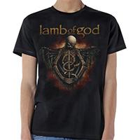 Lamb Of God- Torso on a black shirt