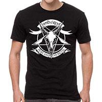Lamb Of God- Pure American Metal on a black shirt