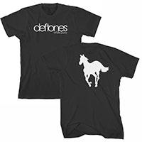 Deftones- White Pony on front & back on a black shirt