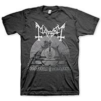 Mayhem- Esoteric on a black shirt