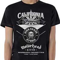Motorhead- Kush on a black shirt