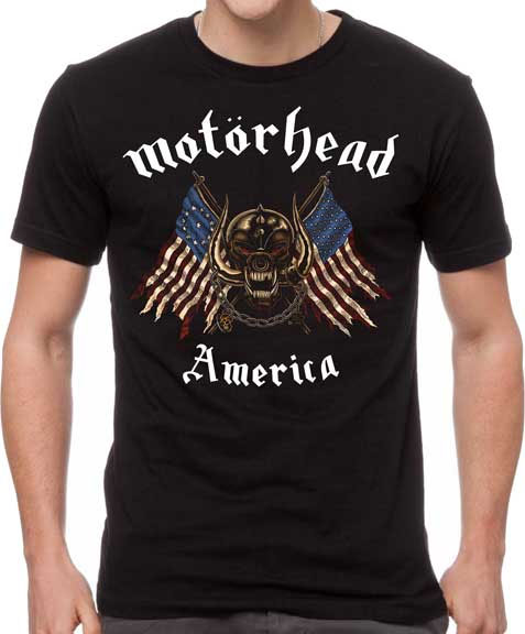 Motorhead- American Warpig on a black shirt