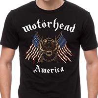 Motorhead- America on a black shirt