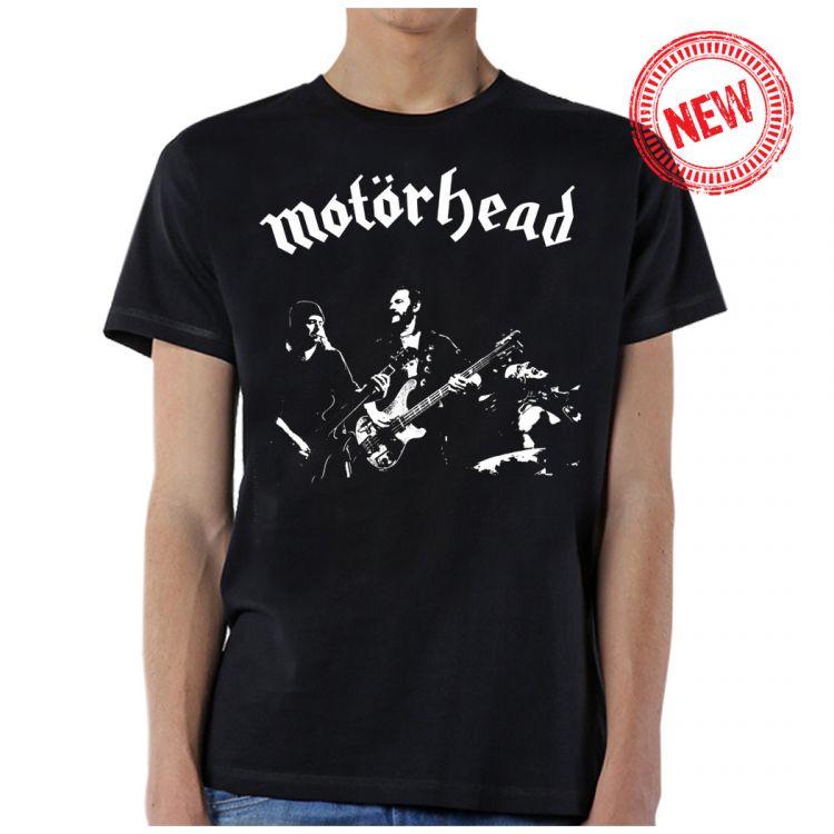Motorhead- Live Pic on a black shirt
