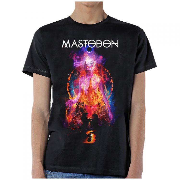 Mastodon- Stargasm on a black ringspun cotton shirt
