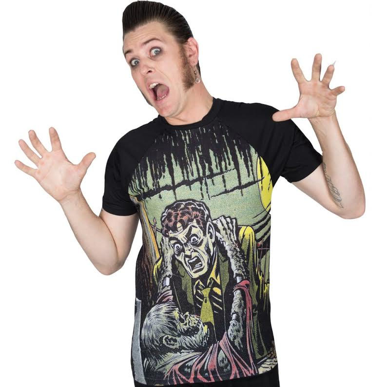 Tales From The Crypt - Gravebuster Sublimated shirt by Kreepsville 666