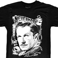 Vincent Price Nevermore shirt by Kreepsville 666