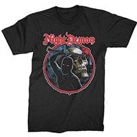 Night Demon- Curse on a black shirt
