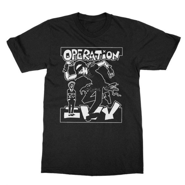 Operation Ivy- Skankin' on a black ringspun cotton shirt