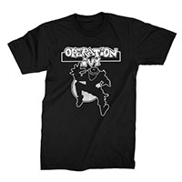 Operation Ivy- Classic Ska Man on a black ringspun cotton shirt