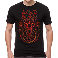 Slayer- Crown Of Thorns on a black shirt