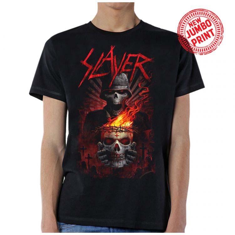 Slayer- Doom on a black shirt