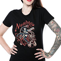 Krampus girls tee by Sourpuss - SALE