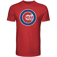 Cheap Trick- Cubs Logo on a red shirt