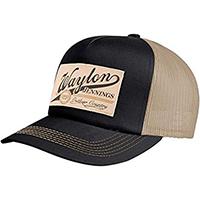 Waylon Jennings- Outlaw Country trucker hat