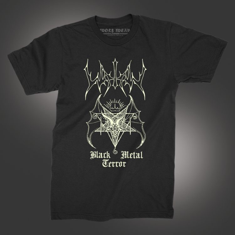 Watain- Black Metal Terror on a black shirt