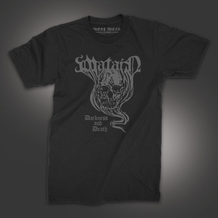 Watain- Darkness And Death on a black shirt